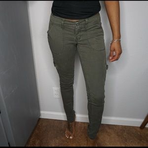 Mossimo army green cargo pants